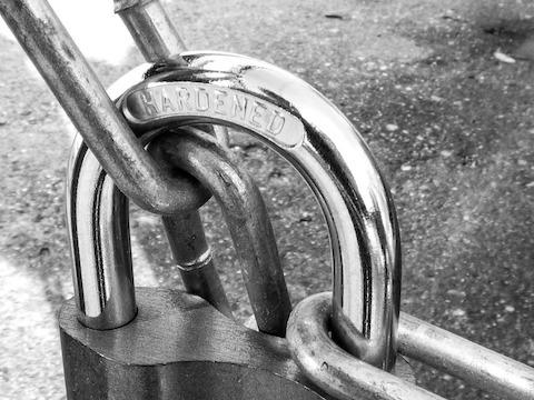 Metal Strong Safety Works Padlock Iron Lock
