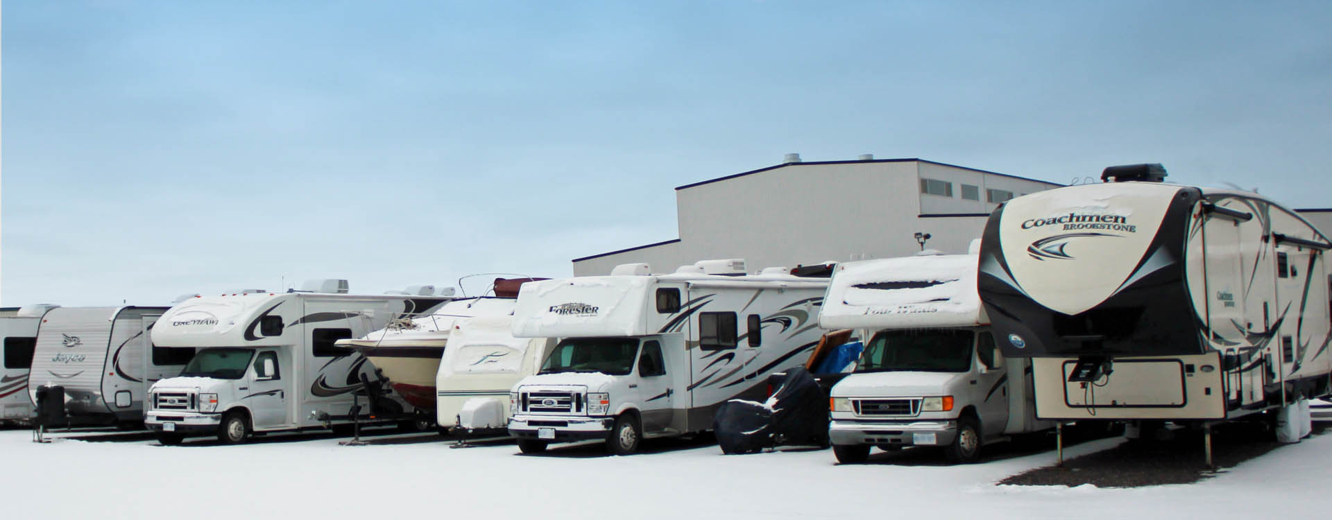 Outdoor RV Storage Fort Henry Brantford